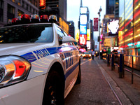 NYPD Vehicle Times Square